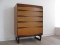 1960s teak tallboy/chest of Drawers.