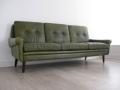 Danish Skipper leather sofa
