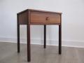 1960 teak bedside table
