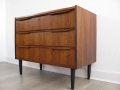 Danish rosewood 1960s chest of drawers