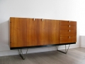A 1950s teak S Range sideboard by John & Sylvia Reid for Stag