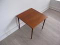 Solid teak 1950s side table France & Son Peter Hvidt