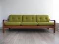 1960s Danish teak sofa Bute fabric