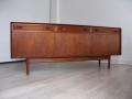 1960s teak sideboard reeded drawers