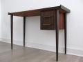 Petite 1960s rosewood Danish desk