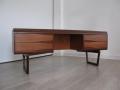 Stylised 1960s teak desk