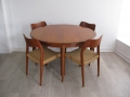 1960s Danish dining suite by J.L. Moller