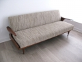 1960s teak sofa daybed by Greaves & Thomas