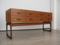 1960s Quadrille chest of drawers