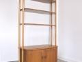 1950s Ercol room divider bookcase