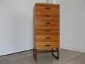 1960s teak Quadrille chest of drawers