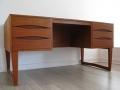 Arne Vodder teak 1960s desk
