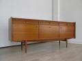 A 1960s teak sideboard