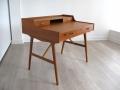 1960s teak desk Arne Wahl Iversen for Vinde Mobelfabrik