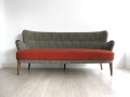 1950s Danish 3 seater sofa