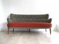 1950s Danish 3 seater sofa