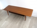 1950s teak coffee table Peter Hvidt Orla Mølgaard Nielsen France & Son