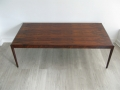 1960s large rosewood Danish coffee table