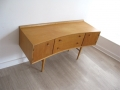 1960s curved chest of drawers