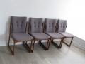 1960s Teak dining chairs Vamdrop Stolefabrik