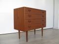 1960s Danish teak chest of drawers Kai Kristiansen