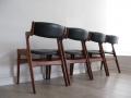1960s Danish teak chairs by Dyrlund