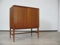 1960s teak record cabinet