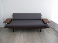 1950s Teak daybed by Toothill