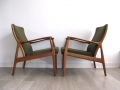 A Danish Teak lounge chair by Horsnaes