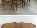 Teak dining suite. IB Kofod Larsen/G Plan Danish range