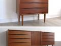 1950s Skeie & Co teak chest of drawers