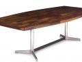 1970s rosewood table. Jorge Zalszupin/L'atelier